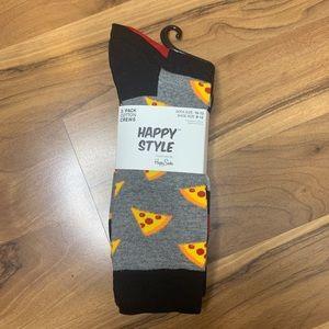 Happy Socks (3-Pack) NWT